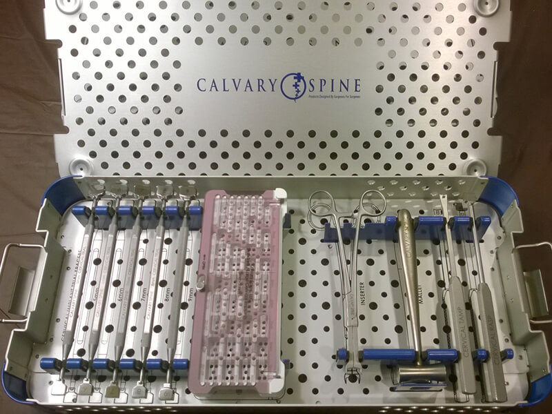 Calvary's Cervical Inter-body Fusion Device